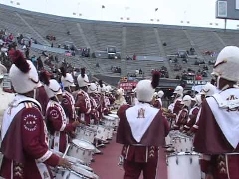 AAMU Band entrance at Magic City Classic 2012