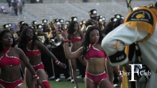 Alabama State Marching out of Cramton Bowl!  | @TheeFClub