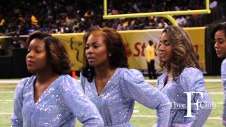 Behind the Scenes: With the Dancing Dolls of Southern University! @TheeFClub