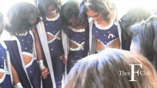 Behind the Scenes with the Prancing J-settes of Jackson State University!