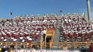 "Bethune Cookman in stands playing ""Who Run It"" 2011"