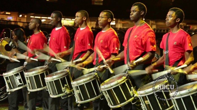 Grambling (2012) – Percussion Section