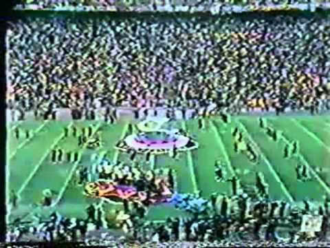 Grambling Performs at Superbowl IX