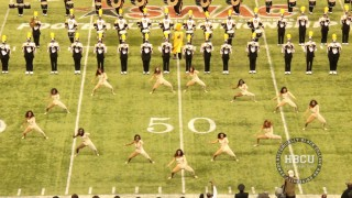 Alabama State – Halftime – SWAC Championship Battle of the Bands 2013