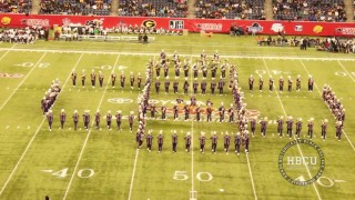 Alcorn State – Halftime – SWAC Championship Battle of the Bands 2013