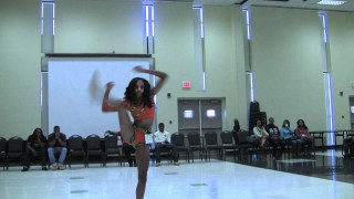 FAMU DIAMONDS Symiria Apedo audition tape @DiamondsofFAMU