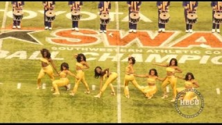 The Golden Girls vs The Prancing J-Settes Both Dancing to Bad Girls @ The SWAC Championship