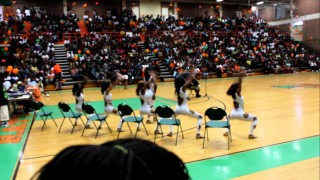 Diamonds of FAMU dancing at the 2011 SPIRIT SHOWCASE #2