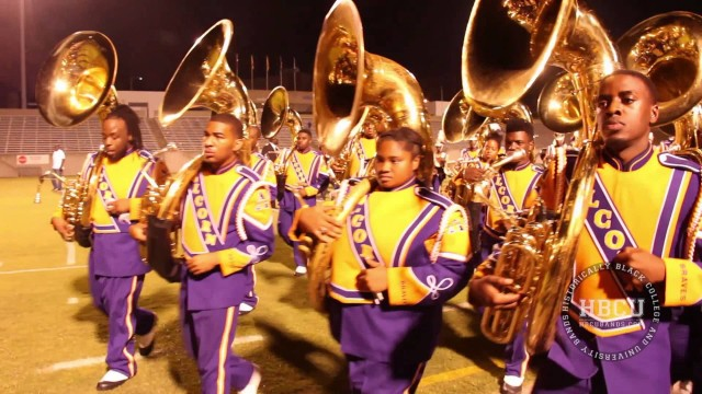 Alcorn Marching out of Stadium (2014)