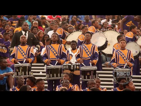 Alcorn State Percussion Section (2014)
