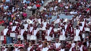 Magic City Classic: Alabama A&M Percussion Section (2014)