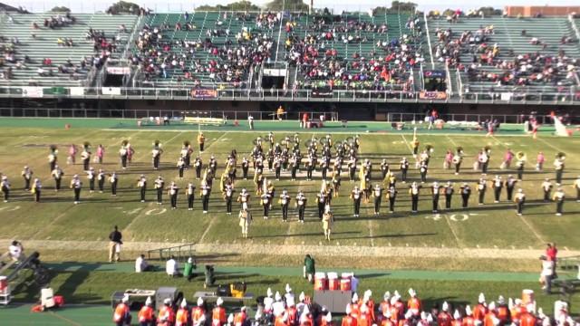 NSU Spartan Legion Halftime show 2014