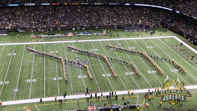 Southern University Human Jukebox Halftime Show at the New Orleans Saints Game 2014