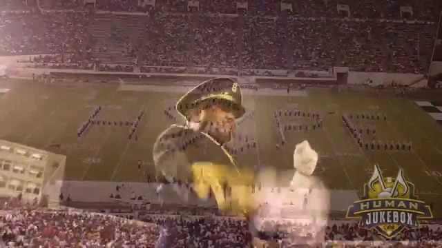 Southern University Human Jukebox pays Tribute to Breast Cancer Awareness