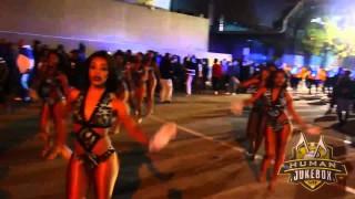 """Southern University Human Jukebox """"Marching Out"""" Bayou Classic BOTB 2014"""
