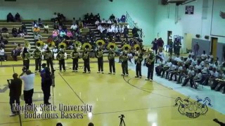 Bodacious Basses(NSU) -vs- D.T.P.(St. Aug) – 2015 Sousaphone Battle @ Warren County B.O.T.B.