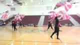 WCHS Platinum Ice Dancers/Flags 2015