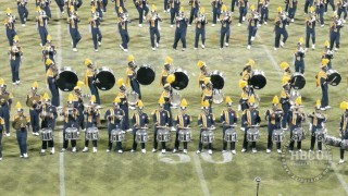 NCAT Marching Band Halftime Show – Queen City Battle of the Bands 2015